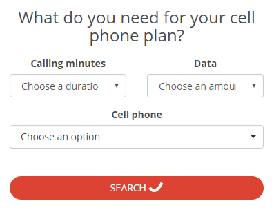 Planhub compare best cell phone plans in Montreal